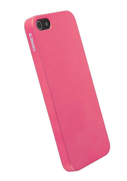 Чехол для iPhone 5/5S Krusell ColorCover Pink Metallic