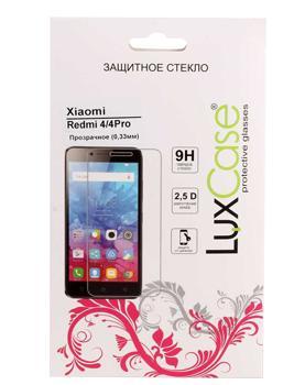 Стекло защитное для Xiaomi Redmi 4 LuxCase 0,33 mmВысококачественное защитное стекло оберегает сенсорный дисплей от царапин и повреждений. Прозрачный тонкий аксессуар легко устанавливается и прочно держится на экране. Стекло-протектор не ухудшает эргономику гаджета, не искажает изображение, не уменьшает ...<br>