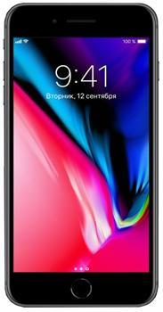Apple iPhone 8 Plus (A1897) 64 GbApple iPhone 8 Plus — исключительно мощный смартфон для общения, развлечений, работы. Чип A11 Bionic обеспечивает решение любых пользовательских задач. Производительности хватает на самые тяжелые 3D-игры. Смартфон заменяет хорошую видеокамеру — есть съемк...<br>