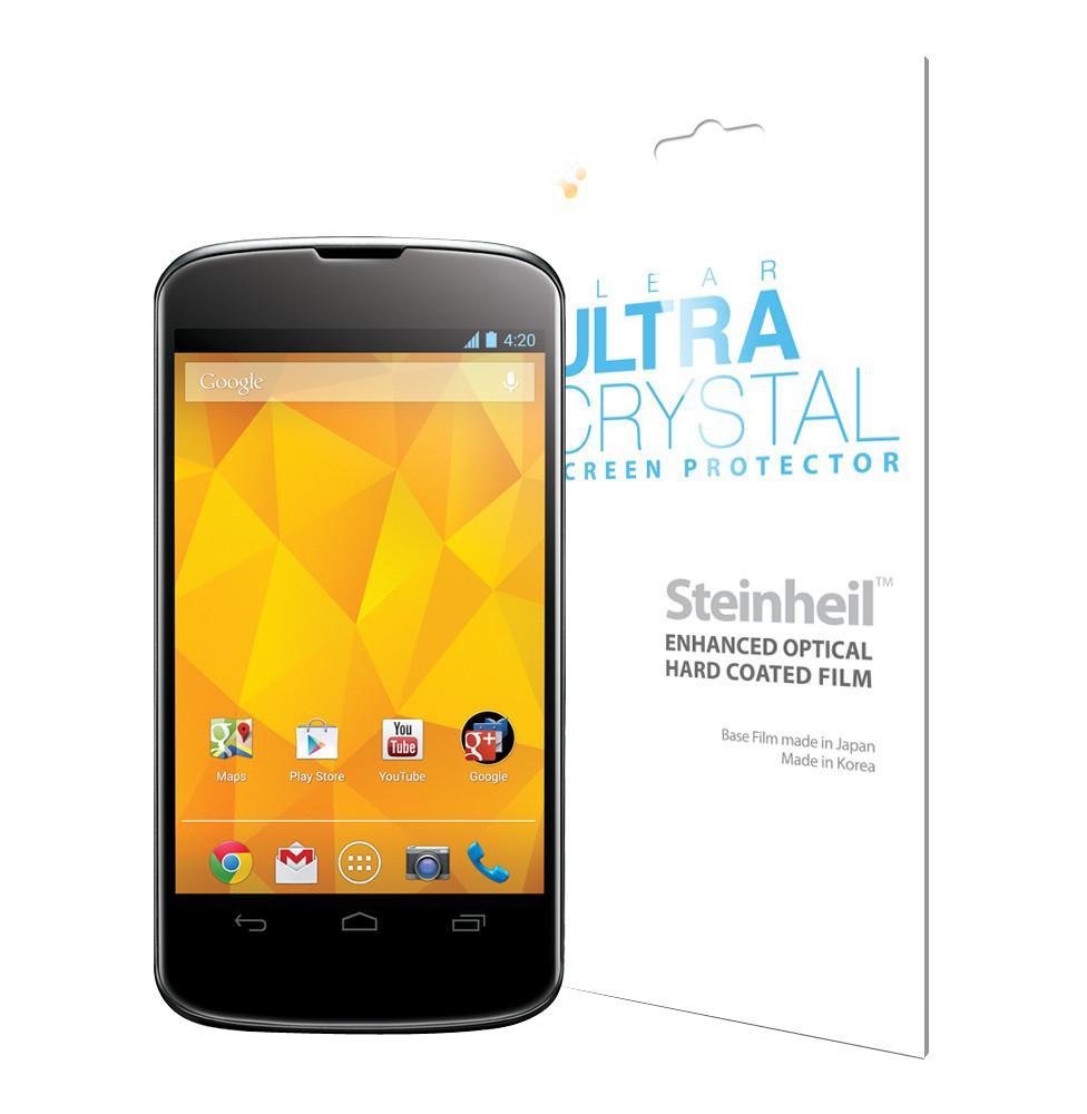 Пленка защитная для LG Nexus 4 SGP Steinheil LCD Film Ultra CrystalНевидимая плёнка для LG Nexus 4 защищает экран от повреждений и пыли, сохраняя при этом яркость и чёткость изображения. Легко приклеивается и так же просто удаляется, не оставляя следов.<br>