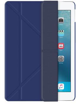 Чехол для iPad (2017) Deppa Wallet Onzo синийПрактичный чехол защищает девайс при падениях и ударах. Не секрет, что гаджеты часто роняют. Их ремонты стоят недешево. Позаботьтесь об этом заранее — защитите любимый девайс. В этом стильном чехле ваш мобильный гаджет будет долго выглядеть новым.<br>