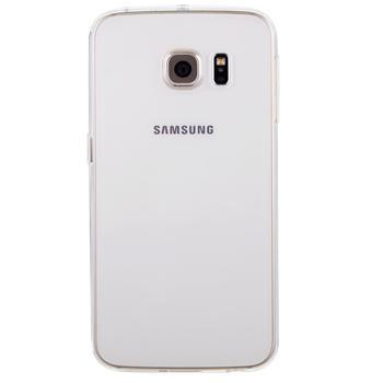 Чехол для Samsung Galaxy S6 Edge силиконовый прозрачныйПрактичный чехол защищает девайс при падениях и ударах. Не секрет, что гаджеты часто роняют. Их ремонты стоят недешево. Позаботьтесь об этом заранее — защитите любимый девайс. В этом стильном чехле ваш мобильный гаджет будет долго выглядеть новым.<br>