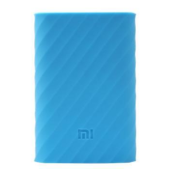 Оригинальный силиконовый чехол для Xiaomi Power bank 10000 mAh (синий)