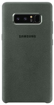 Чехол для Samsung Galaxy Note 8 Alcantara Cover greenПрактичный чехол защищает смартфон при падениях и ударах. Не секрет, что гаджеты часто роняют. Их ремонты стоят недешево. Позаботьтесь об этом заранее — защитите любимый девайс. В этом стильном чехле ваш мобильный гаджет будет долго выглядеть новым.<br>
