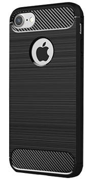 Чехол противоударный для iPhone 7 черный NoName