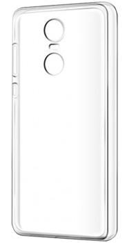 Чехол для Xiaomi Redmi Note 4x силиконовый прозрачный