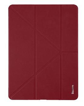Чехол для iPad (2017) Baseus Simplism Y-Type Leather Wine RedПрактичный чехол защищает iPad при падениях и ударах. Не секрет, что гаджеты часто роняют. Их ремонты стоят недешево. Позаботьтесь об этом заранее — защитите любимый iPad. В этом стильном чехле ваш мобильный гаджет будет долго выглядеть новым.<br>