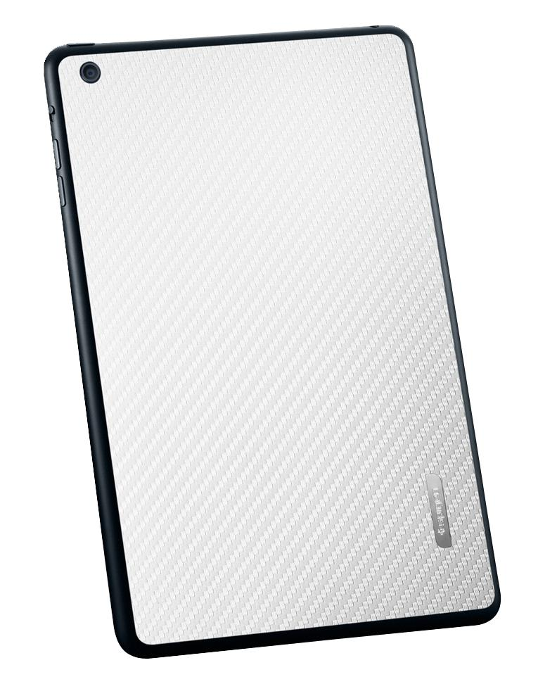 Наклейка для iPad mini SGP SkinGuard carbon white