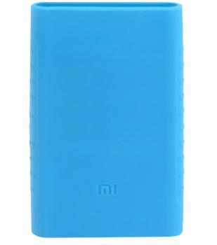 Оригинальный силиконовый чехол для Xiaomi Power bank 2 10000 mAh (голубой)Практичный чехол защищает Power bank от потертостей и царапин. В этом стильном чехле ваш мобильный аккумулятор будет долго выглядеть новым.<br>