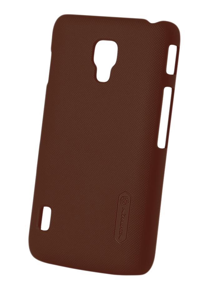 Чехол Nillkin Super Frosted Shield для Optimus L7 II, коричневыйИдете в ногу со временем и цените современные и стильные аксессуары? Закажите Super Frosted Shield от Nillkin — яркую, модную и такую легкую накладку. Ее тонкий бесшовный корпус создан специально для того, чтобы подчеркнуть оригинальный дизайн Optimus L7 ...<br>