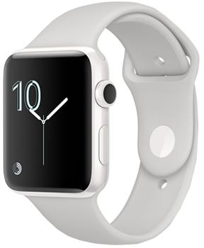 Apple Watch Edition Series 2 42mm White Ceramic Case with Cloud Sport Band
