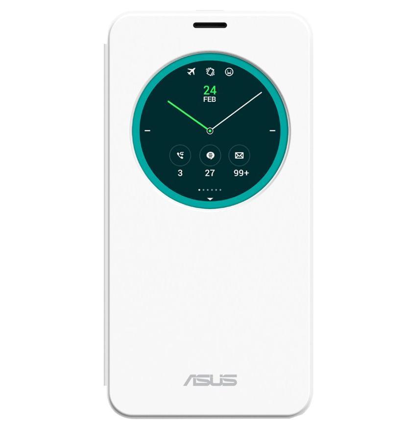 Чехол для Asus Zenfone 2 ZE550ML View Flip Cover белыйПрактичный чехол защищает девайс при падениях и ударах. Не секрет, что гаджеты часто роняют. Их ремонты стоят недешево. Позаботьтесь об этом заранее. Защитите любимый девайс с помощью недорогого аксессуара. В этом стильном чехле ваш мобильный гаджет будет...<br>