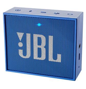 Портативная акустика JBL Go синяяЭтот миниатюрный девайс обеспечит вас музыкой всюду: на пикнике, пляже, велосипедной прогулке. JBL GO предназначена для работы с мобильными гаджетами. Колонка, оснащенная аккумулятором, может звучать по интерфейсу Bluetooth или через стандартный 3,5 мм ау...<br>