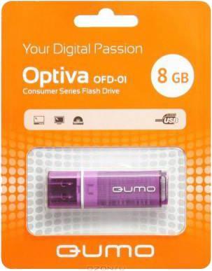 USB-накопитель Qumo Optiva 01 USB 2.0 8GB VioletУдобная флешка Qumo Optiva 01 8GB с интерфейсом USB 2.0 - это не только надежный хранитель информации для тех, кто ценит гарантии и скорость, но и элемент, подчеркивающий вашу индивидуальность в атмосфере серых городских будней. Вся радуга цветов создаст ...<br>