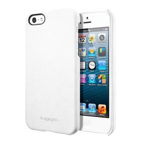 Чехол дл iPhone 5/5S SGP Genuine Leather Grip WhiteGenuine Leather Grip — то отличный чехол бизнес-класса от известной американской фирмы SGP. С ним безопасность вашего телефона будет под строгим и неусыпным контролем, даже если вы пользуетесь телефоном очень активно. Качественный каркас из ударопрочно...<br>