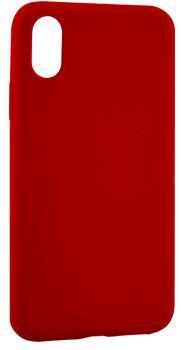 Чехол для iphone X Deppa Anycase матовый красныйПрактичный чехол защищает iPhone при падениях и ударах. Не секрет, что гаджеты часто роняют. Их ремонты стоят недешево. Позаботьтесь об этом заранее — защитите любимый смартфон. В этом стильном чехле ваш мобильный гаджет будет долго выглядеть новым.<br>