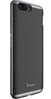 Чехол для OnePlus 5 iPaky Case графитПрактичный чехол защищает смартфон при падениях и ударах. Не секрет, что гаджеты часто роняют. Их ремонты стоят недешево. Позаботьтесь об этом заранее — защитите любимый девайс. В этом стильном чехле ваш мобильный гаджет будет долго выглядеть новым.<br>