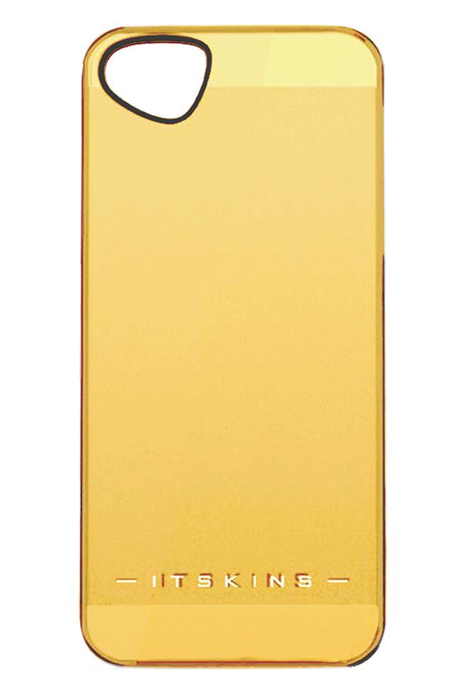 Накладка пластиковая для iPhone 5/5S Itskins The new Ghost с защ.пленкой желтыйДизайнерское бюро ITSkins представило новую серию ультратонких пластиковых чехлов GHOST в нескольких цветовых решениях. Чехол сочетает в себе эстетическую привлекательность и функциональность - прекрасно защищает гаджет от внешнего воздействия. В комплект...<br>