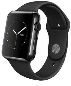 Apple Watch 38mm with Sport Band BlackСмарт-часы от престижной компании созданы для людей, обожающих безупречный дизайн. Владелец устройства сможет получать разнообразные уведомления в максимально комфортном наручном формате. Работа с входящими вызовами, почтой, оповещениями станет большим уд...<br>