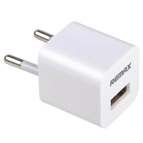 Зарядное устройство сетевое REMAX USB Charger 1A, белый