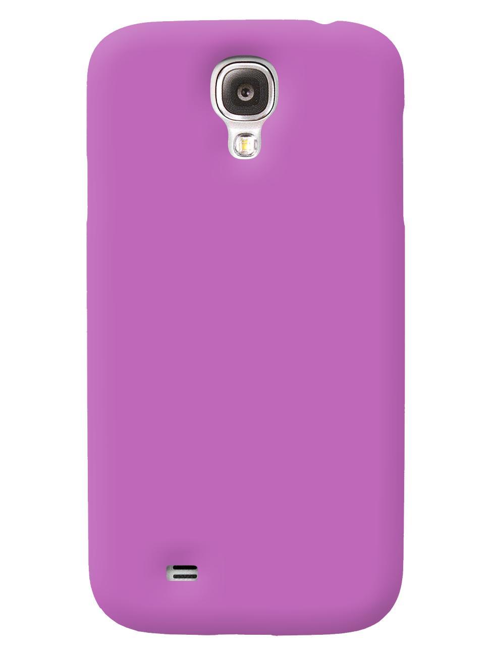 Чехол iCover для Galaxy S IV Rubber purpleТонкая, яркая, модная и очень надежная. На этом достоинства iCover Rubber точно не заканчиваются. Панель идеально повторяет формы элегантного Galaxy S IV  и не загораживает доступ к элементам управления. Корпус, толщиной всего несколько миллиметров, отлич...<br>