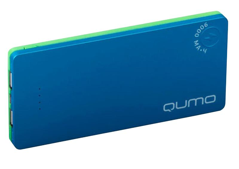 ������� ����������� QUMO PowerAid Slim Twin 9000 mAh, 1A+2A, 2USB