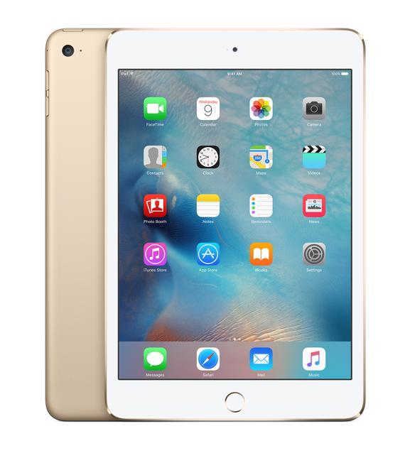 Apple iPad mini 4 128 GbApple-гаджет прибавил в процессорной мощности около 30%, а графика стала быстрее примерно на 60%. Эффектный дизайн дополняется здесь функциональной iOS 9. Режимы Slide Over, Split View и другие откроют новые горизонты - многозадачность теперь еще эффектив...<br><br>Цвет: Серебряный,Серый,Серый