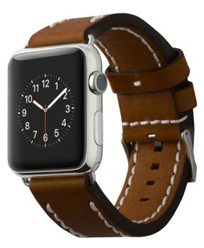 Ремешок для Apple Watch 42mm Cozistyle Leather Band Dark Brown