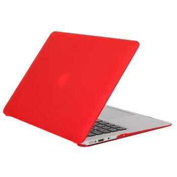 Чехол для MacBook Air 13 Daav Doorkijk D-MBA13-RFC с накладкой на клавиатуру красныйЭтот тонкий и легкий чехол защищает MacBook Air от царапин, грязи, потертостей.<br>