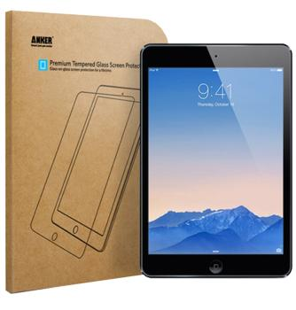 Стекло защитное для iPad Air/Air2/Pro 9.7 AnkerВысококачественное защитное стекло оберегает сенсорный дисплей iPad от царапин и повреждений. Прозрачный тонкий аксессуар легко устанавливается и прочно держится на экране. Стекло-протектор не ухудшает эргономику гаджета, не искажает изображение, не умень...<br>