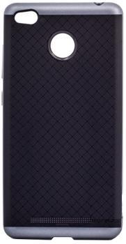 Чехол-накладка для Xiaomi Redmi 3Pro/3S iPaky Case графитПрактичный чехол защищает девайс при падениях и ударах. Не секрет, что гаджеты часто роняют. Их ремонты стоят недешево. Позаботьтесь об этом заранее — защитите любимый девайс. В этом стильном чехле ваш мобильный гаджет будет долго выглядеть новым.<br>