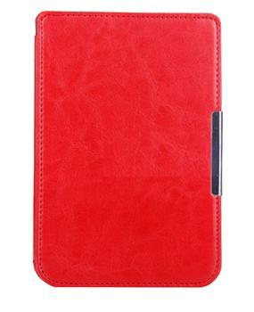Чехол для Pocketbook 614/622/623/624 красныйЧехол убережет электронную книгу от повреждений, ударов и царапин. Удобен в использовании: не закрывает разъёмы устройства.<br>
