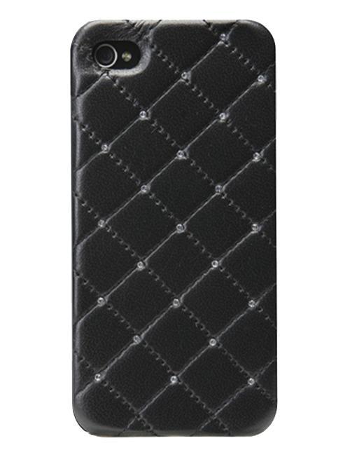 Панель для iPhone 5/5S iCover Leather Swarovski Black IP5-LE-SW/BKСтеганая натуральная кожа в сочетании с ярким блеском кристаллов Swarovski сделают ваш iPhone 5 неповторимым. Эксклюзивный дизайн, ручная работа и отличное качество материалов каждый день будут приносить только положительные эмоции. Толщина iCover Leath...<br>