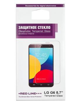 Стекло защитное для LG G6 Red LineВысококачественное защитное стекло оберегает сенсорный дисплей от царапин и повреждений. Прозрачный тонкий аксессуар легко устанавливается и прочно держится на экране. Стекло-протектор не ухудшает эргономику гаджета, не искажает изображение, не уменьшает ...<br>