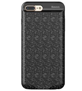 Чехол-аккумулятор Baseus Plaid Backpack для iPhone 7 Plus (3650mAh) черныйЭтот стильный чехол не только защитит ваш iPhone, но и усилит его автономность. Батарея чехла на 3 650 мАч резко продлит время автономной работы смартфона.<br>