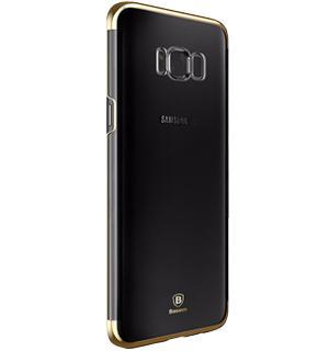 Чехол Baseus Glitter Case для Samsung Galaxy S8 GoldПрактичный чехол защищает девайс при падениях и ударах. Не секрет, что гаджеты часто роняют. Их ремонты стоят недешево. Позаботьтесь об этом заранее — защитите любимый девайс. В этом стильном чехле ваш мобильный гаджет будет долго выглядеть новым.<br>
