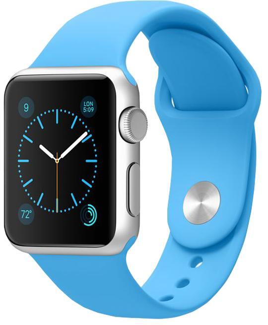 Apple Watch Sport 42mm with Sport Band Blue