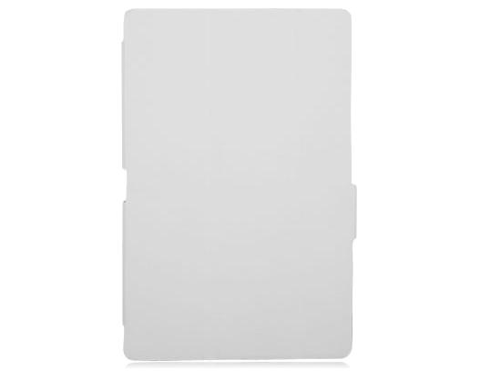 Чехол для Sony Xperia Tablet Z2 Ainy белыйПрактичный чехол защищает девайс при падениях и ударах. Не секрет, что гаджеты часто роняют. Их ремонты стоят недешево. Позаботьтесь об этом заранее. Защитите любимый девайс с помощью недорогого аксессуара. В этом стильном чехле ваш мобильный гаджет будет...<br>