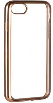 Накладка силиконовая для Iphone 7 Plus Ibox Blaze золотистая рамкаПрактичная силиконовая накладка защищает девайс при падениях и ударах. Не секрет, что гаджеты часто роняют. Их ремонты стоят недешево. Позаботьтесь об этом заранее — защитите любимый iPhone. В этом стильном чехле ваш мобильный гаджет будет долго выглядеть...<br>
