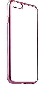 Накладка силиконовая для Iphone 5/5S/SE Ibox Blaze розовая рамка
