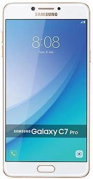 Samsung Galaxy C7 Pro 64 GbSamsung Galaxy C7 Pro — большой и мощный смартфон от престижного IT-бренда. Модель построена на быстром чипсете Snapdragon 626 с эффективным водяным охлаждением. 14 нм техпроцесс, по которому производится этот чип, гарантирует большую экономичность. Изюми...<br><br>Цвет: Голубой,Розовый