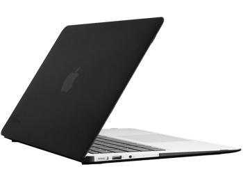 Чехол накладка для Macbook Pro Retina 13 пластиковая i-Blason матовая чернаяВ этом стильном чехле ваш MacBook будет долго выглядеть новым.<br>