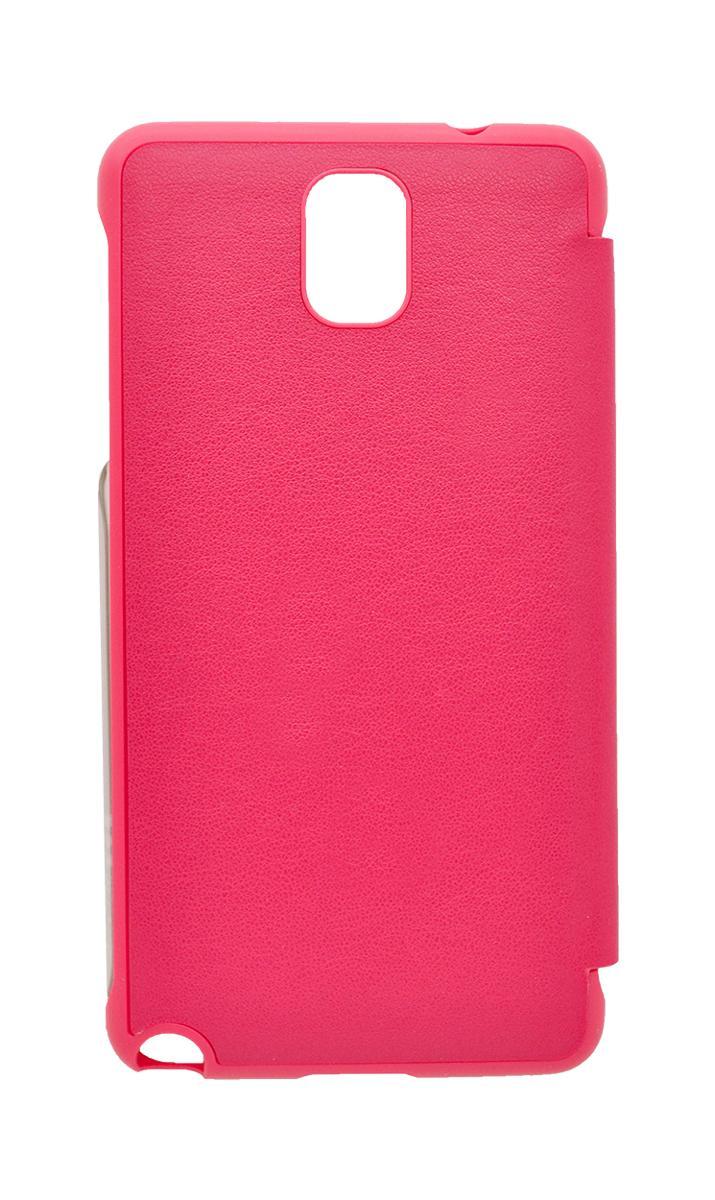 Чехол Anymode Touch Folio для Galaxy Note 3 с защитной пленкой розовый