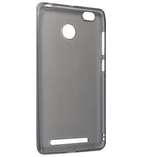 Чехол для Xiaomi Redmi 3 Pro силиконовый серыйПрактичный чехол защищает девайс при падениях и ударах. Не секрет, что гаджеты часто роняют. Их ремонты стоят недешево. Позаботьтесь об этом заранее — защитите любимый девайс. В этом стильном чехле ваш мобильный гаджет будет долго выглядеть новым.<br>