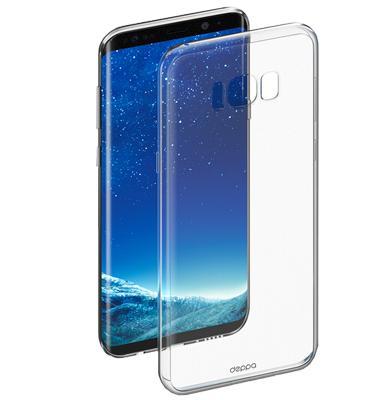 Чехол Deppa для Galaxy S8 GelCase clearПрактичный чехол защищает смартфон при падениях и ударах. Не секрет, что гаджеты часто роняют. Их ремонты стоят недешево. Позаботьтесь об этом заранее — защитите любимый девайс. В этом стильном чехле ваш мобильный гаджет будет долго выглядеть новым.<br>