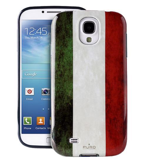 Чехол Puro для Galaxy S IV TPU Italian FlagСтильный надежный чехол Puro выделит ваш изящный Galaxy S IV из толпы и привнесет в облик неповторимость. Кроме того, чехол призван защитить смартфон от пыли, грязи, пятен и царапин. Он идеально подходит к форме устройства, сохраняя при этом тонкий и элег...<br>