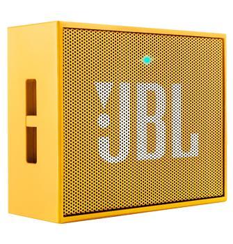 Портативная акустика JBL Go желтаяЭтот миниатюрный девайс обеспечит вас музыкой всюду: на пикнике, пляже, велосипедной прогулке. JBL GO предназначена для работы с мобильными гаджетами. Колонка, оснащенная аккумулятором, может звучать по интерфейсу Bluetooth или через стандартный 3,5 мм ау...<br>