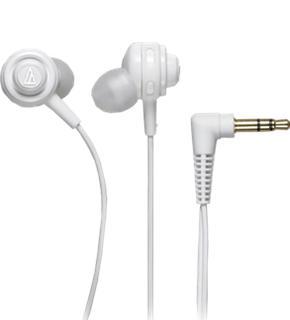 Наушники Audio-Technica ATH-COR150 белыеAudio-Technica ATH-COR150 — компактные внутриканальные «ушки» с акцентом на мощный бас. Модель отлично подойдет меломанам, требовательным к качеству звука, но не готовым постоянно ходить с тяжелыми «мониторами». Это изделие premuim-бренда позволит слушать...<br>