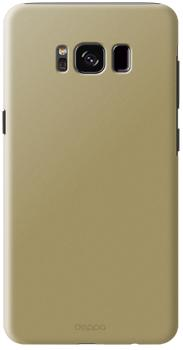 Чехол Deppa для Galaxy S8 Plus AirCase goldПрактичный чехол защищает смартфон при падениях и ударах. Не секрет, что гаджеты часто роняют. Их ремонты стоят недешево. Позаботьтесь об этом заранее — защитите любимый девайс. В этом стильном чехле ваш мобильный гаджет будет долго выглядеть новым.<br>