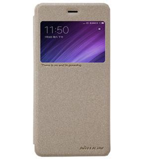 Чехол Nillkin Sparkle для Xiaomi Redmi 4 goldПрактичный чехол защищает смартфон при падениях и ударах. Не секрет, что гаджеты часто роняют. Их ремонты стоят недешево. Позаботьтесь об этом заранее — защитите любимый девайс. В этом стильном чехле ваш мобильный гаджет будет долго выглядеть новым.<br>